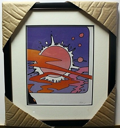 """COSMIC WINDOW""  Lithograph By Peter Max"