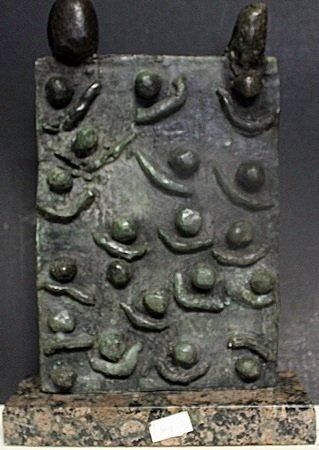 Patina Bronze Sculpture After Joan Miro (407)