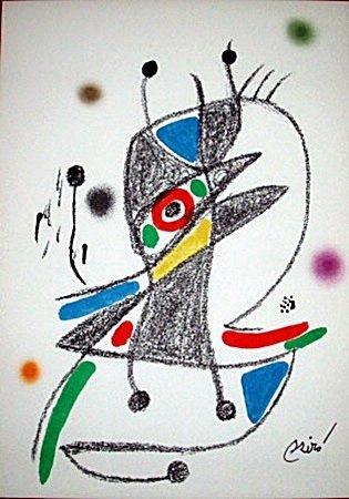 Maravillas 2 Lithograph-By Miro (11CQ)