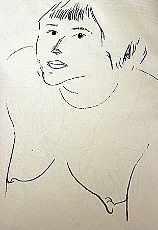 LITHOGRAPH BY ARTIST HENRI MATISSE