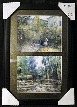 Lithographs 2-in-1 by Pissaro (EK 1249)