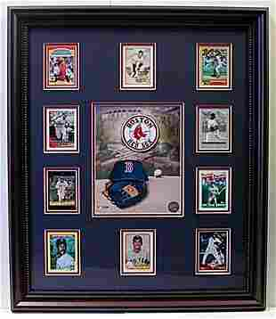 10 Cards with Licensed Photo of the Boston Red Sox
