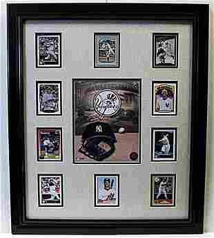 10 Cards with Licensed Photo of the Yankees Memorabilia