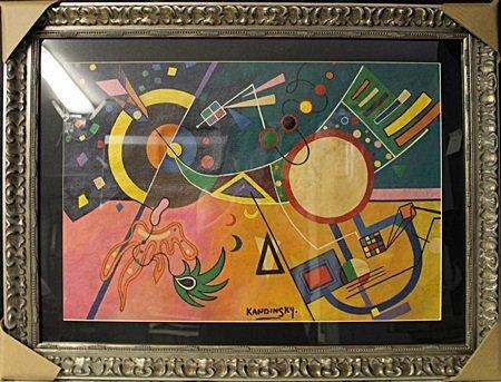 """""""Gravitation"""" By Wassily Kandinsky"""