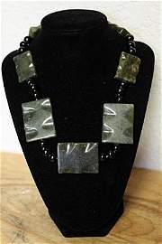 Jade Black Onyx Necklace
