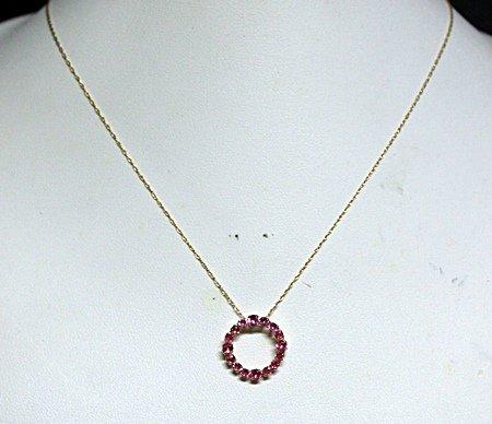Lady's Fancy Rubies Necklace.