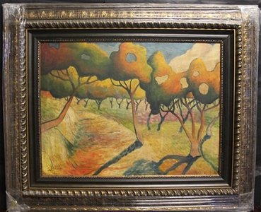 Original/Mixed Media on Canvas By Georges Braque