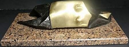 Bronze/Gold Bronze Sculpture By L. Chadwick