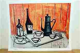 """""""Breakfast Table"""" By Bernard Buffet. (CC)"""