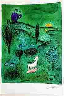 Daphnis & Chloe BY MARC Chagall (21DG)