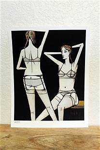 """""""Two Women"""" By Bernard Buffet. (CC)"""