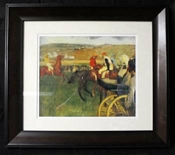 "Lithograph ""At the Races"" by Edgar Degas (EK 1196)"