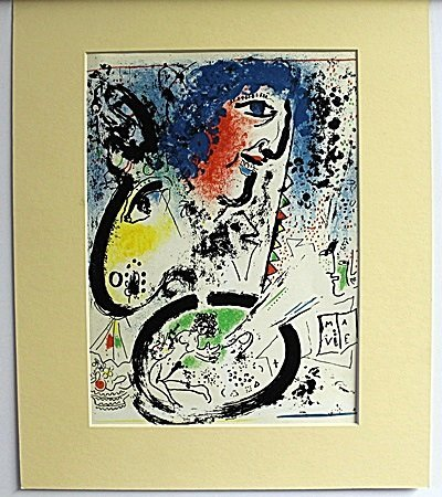 """UNTITILED"" by MARC CHAGALL (7CT)"
