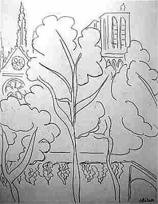 Limited Edition Le Cite, Notre Dame-By Matisse (9CQ)