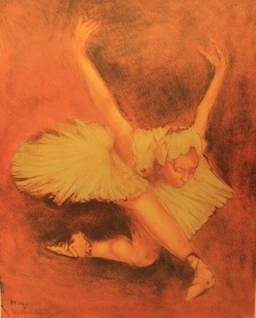 """Dying Swan"" By William Verdult"