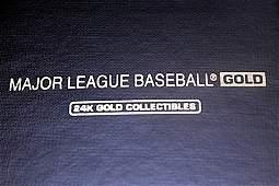 Collectible Major League Baseball Gold