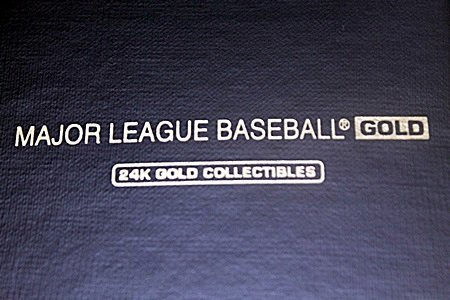Collectible Major League Baseball Gold