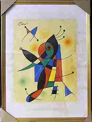 """""""Hombre danzando de felicidad"""" By Joan Miro"""