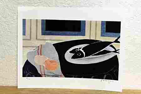 """ Fish "" By Braque. (CC)"