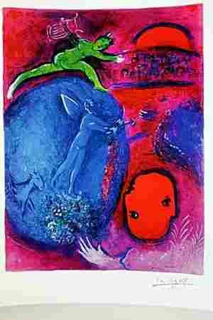 Daphnis & Chloe BY MARC Chagall (8DG)