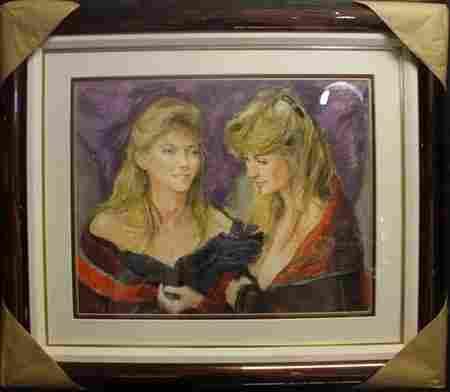 """""""2 Ladies"""" By S. C. Schoneberg"""