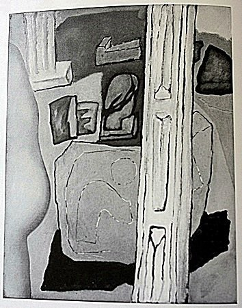 Lithograph by artist William Brice (1WB)