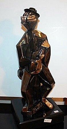 Siberian Jade Bronco Sculpture (212ED)