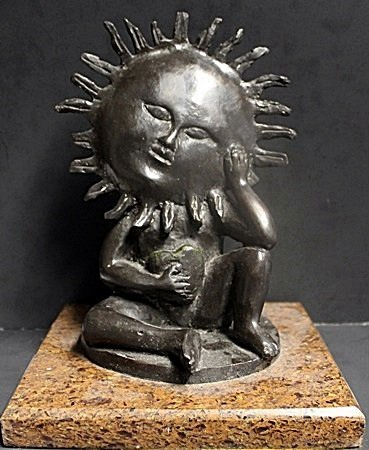 Bronze Sculpture By Sergio Bustamante (43X)