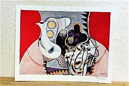 """"""" Still Life With Figs  """" By Braque. (CC)"""
