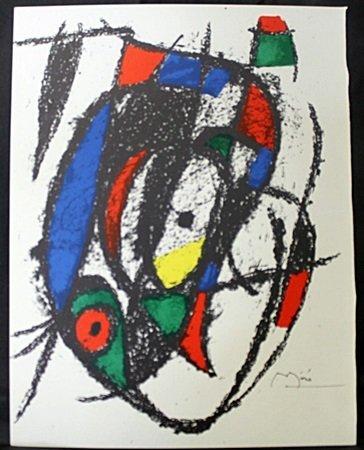 Original Lithograph By Joan Miro (43ZM)