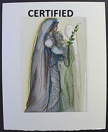 """""""The Archangel Gabriel"""" Certified Wood Block by"""