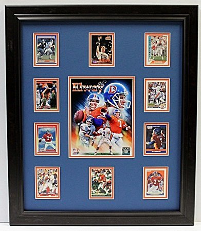 10 Cards with Licensed Photo of ELWAY -  LA66