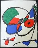 Original Lithograph By Joan Miro (60ZM)