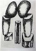 Offset Lithograph by artist William Brice(40WB)