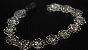 Lady's Fancy Crystals Bracelet.