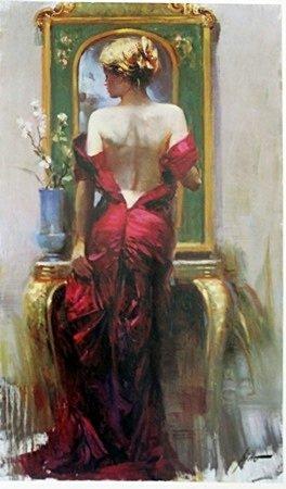 "Print ""Elegant Seduction"" after Pino"