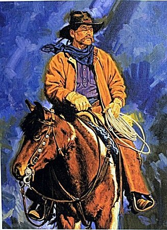 """Giclee on Canvas """"Tim Buck Two"""" After Unkown Artist."""