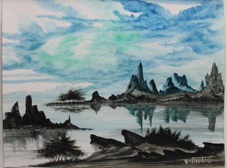 """""""Desert Blues"""" by William Verdult"""