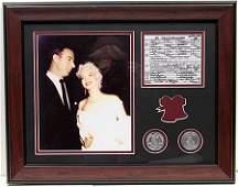 Joe & Marilyn With Wedding License - LA37