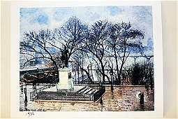 """""""The Central Island On The Pont-Neuf"""" By Artist Camille"""