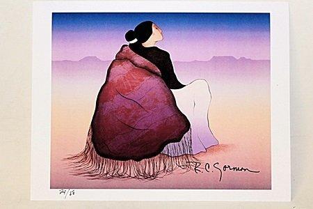 """Catalina De Mora"" By Artist R.C. Gorman.(104AU)"