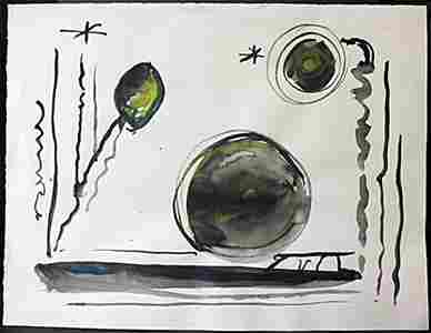 "Lithograph ""After School"" After  Graciela R. Boulanger"