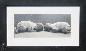"Framed Photograph ""Twins"" (10O)"