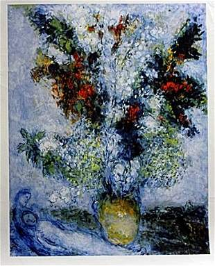 Giclee on Canvas After Marc Chagall