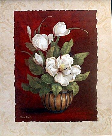 "Fine Art Print ""More Magnolias I"" by Vivian Flasch"