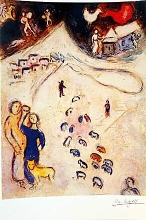 Daphnis & Chloe BY MARC Chagall (14DG)