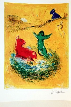 daphnis and Chloe BY MARC Chagall (15DG)