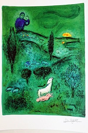 Daphnis&Chloe BY MARC Chagall (21DG)