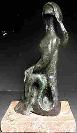 Patina Bronze Sculpture After Pablo Picasso (365)