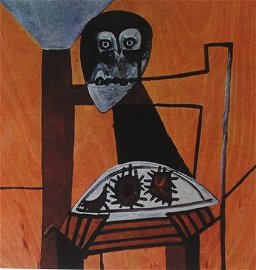 Hand Signed Lithograph after Pablo Picasso
